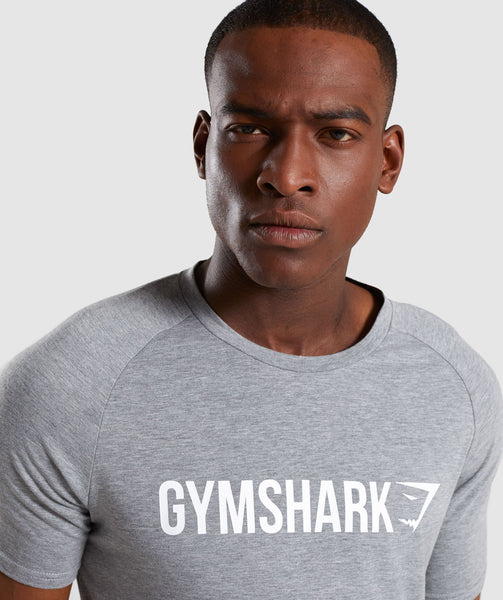 Gymshark Apollo T-Shirt - Grey 4