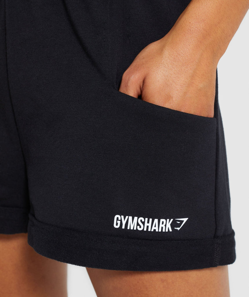 Gymshark Ark High Waisted Shorts - Black 5