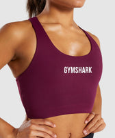 Gymshark Ark Sports Bra - Dark Ruby 12
