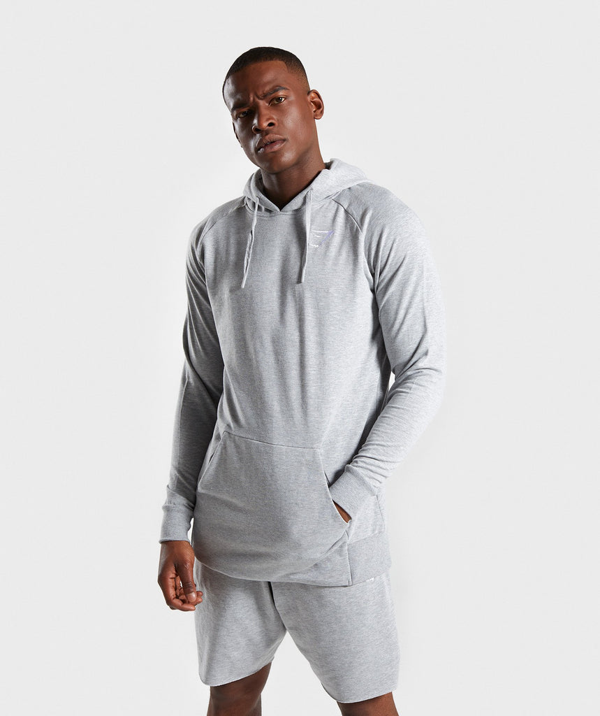 Gymshark Ark Hoodie - Light Grey Marl 1