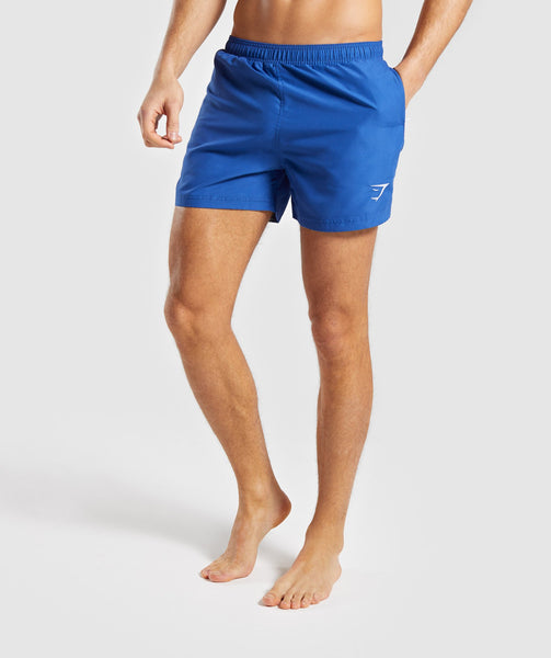 f627fbfcb8 Gymshark Atlantic Swim Shorts - Blue | Gymshark