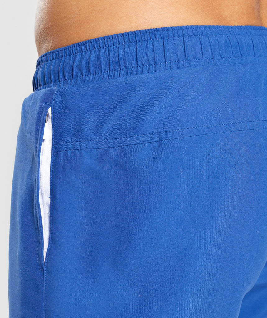 Gymshark Atlantic Swim Shorts - Blue 6