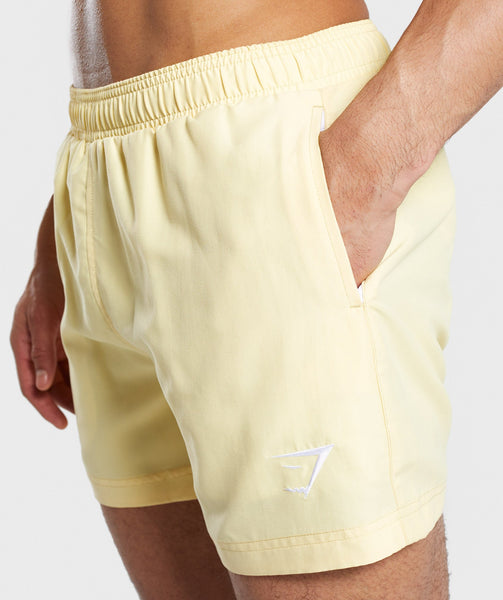 Gymshark Atlantic Swim Shorts - Yellow 4