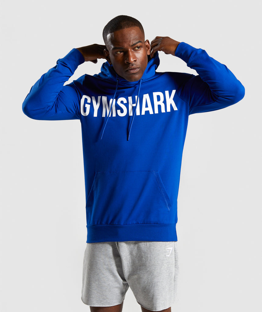 Gymshark Bold Hoodie - Electric Blue 1