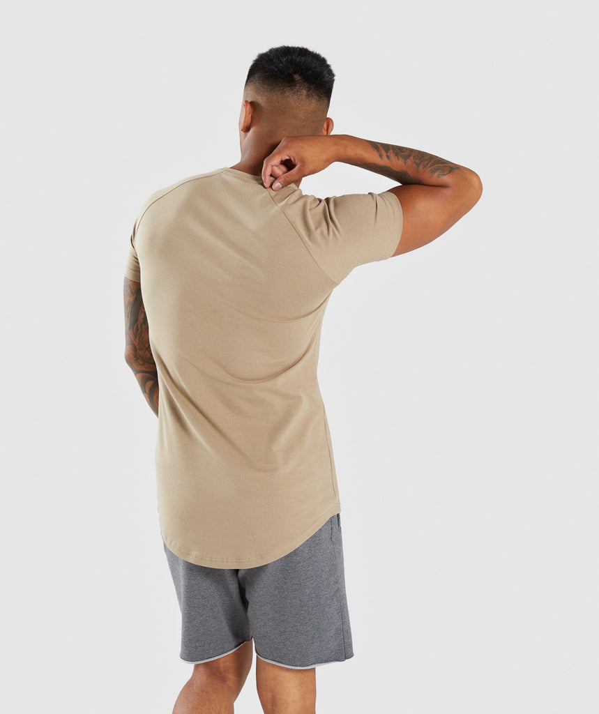 Gymshark Block T-Shirt - Driftwood Brown 2