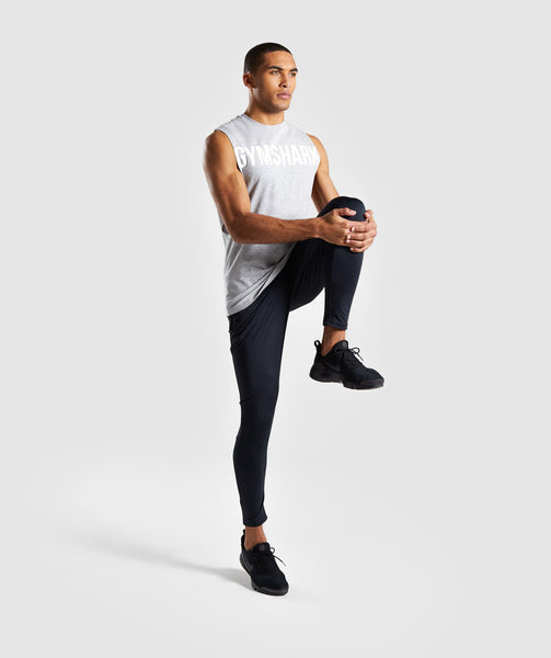 Gymshark Bold Graphic Drop Armhole Tank - Grey 3