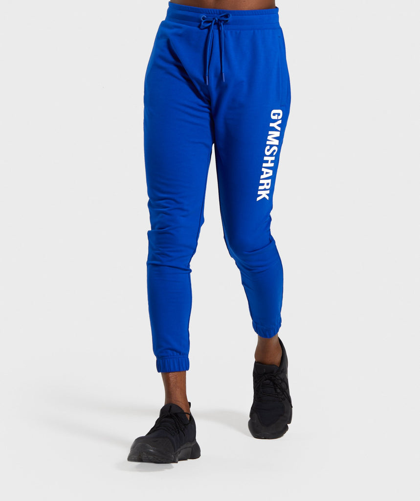 Gymshark Bold Joggers - Electric Blue 1