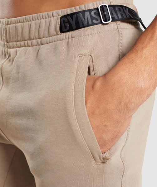 Gymshark Carbon Shorts - Driftwood Brown 4