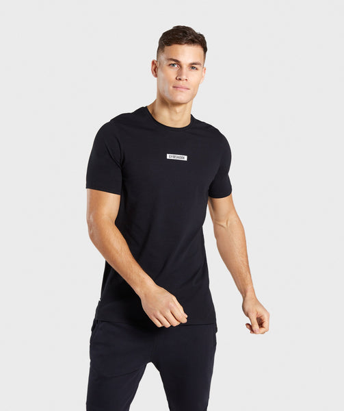Gymshark Central T-Shirt - Black 4