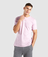 Gymshark Central T-Shirt - Light Pink 7