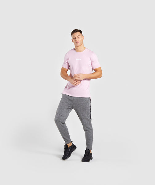 Gymshark Central T-Shirt - Light Pink 3
