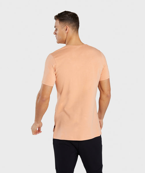 Gymshark Central T-Shirt - Orange 1