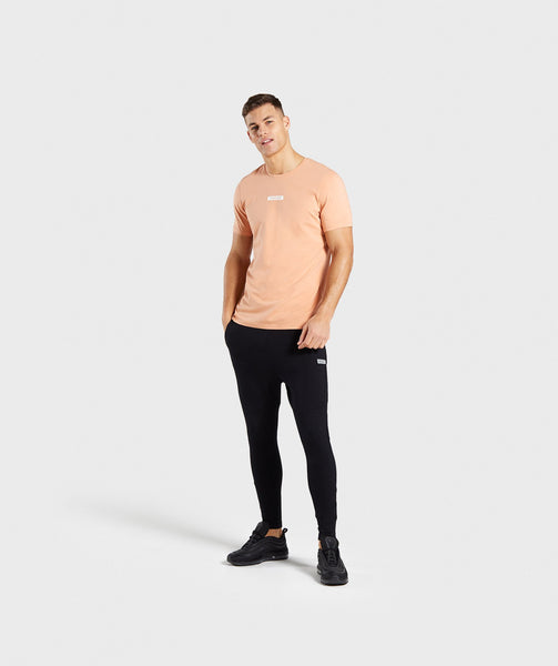 Gymshark Central T-Shirt - Orange 3