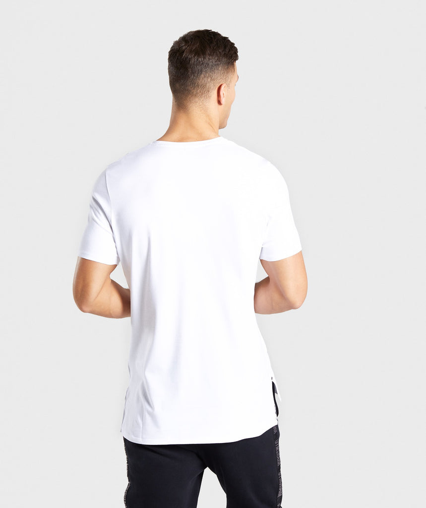 Gymshark Central T-Shirt - White 2