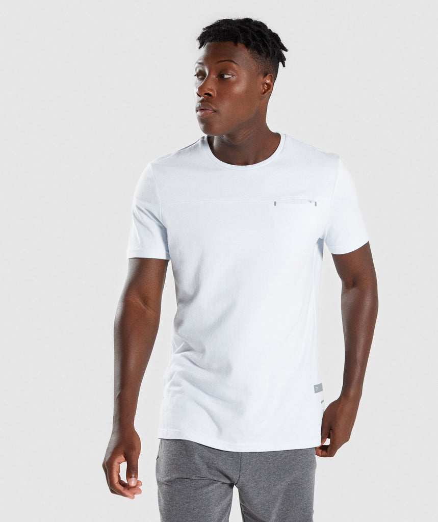 Gymshark City T-Shirt - Clear Water 1