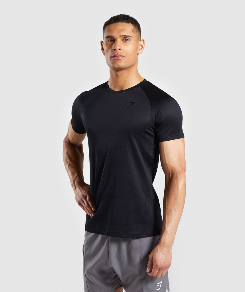 87008925e70 Gymshark Contemporary T-Shirt - Black 1