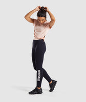 Gymshark Core Leggings - Black 9
