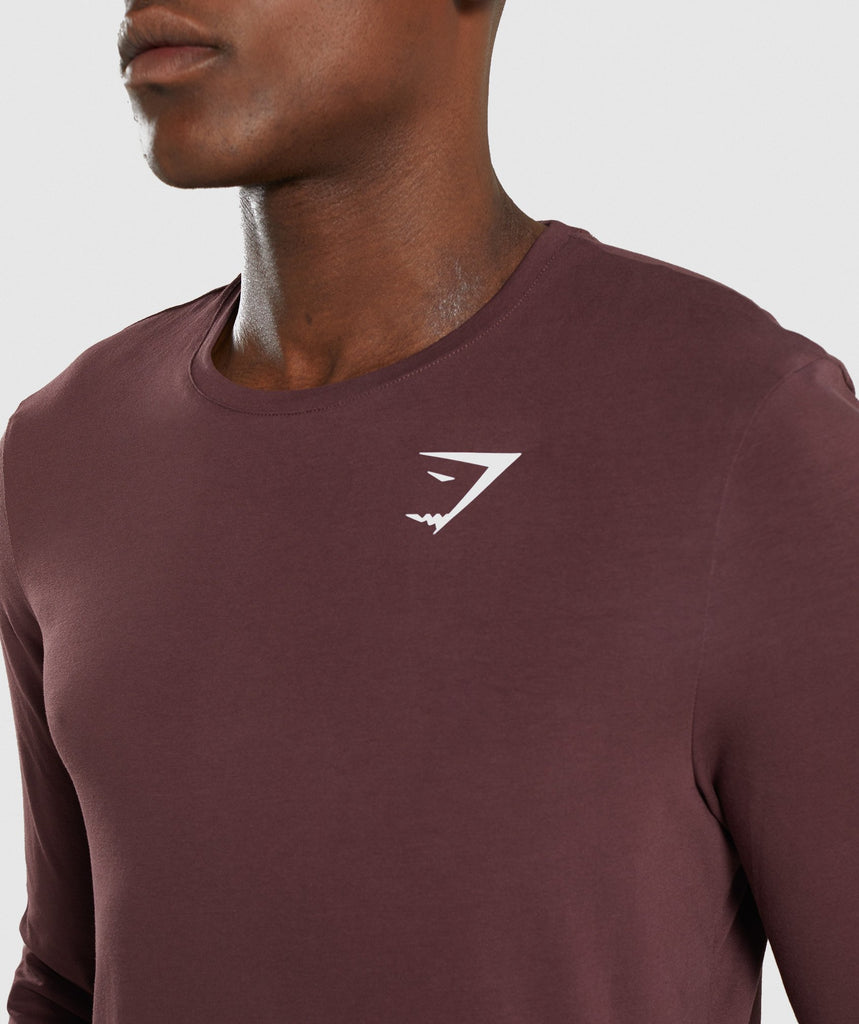 Gymshark Critical Long Sleeve T-Shirt - Red 6