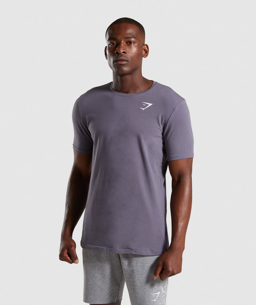 Gymshark Critical T-Shirt - Slate Grey 1