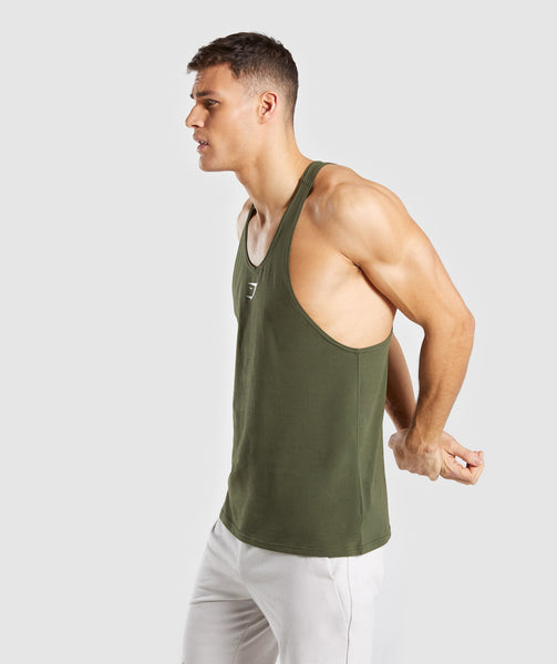 Gymshark Critical Stringer - Green 2
