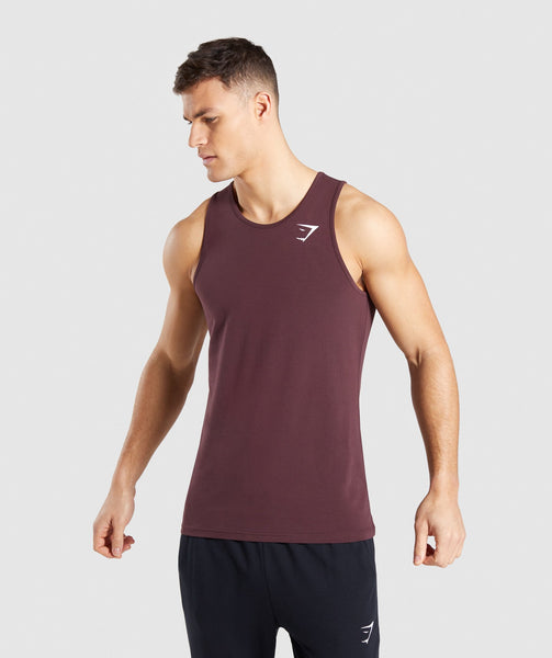 08ef2a7ae4726 Gymshark Critical Tank - Red 1  Gymshark Critical Tank - Red 2 ...