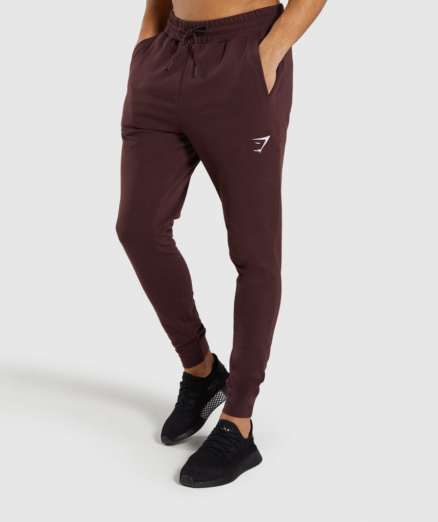 Gymshark Critical Joggers - Red 1