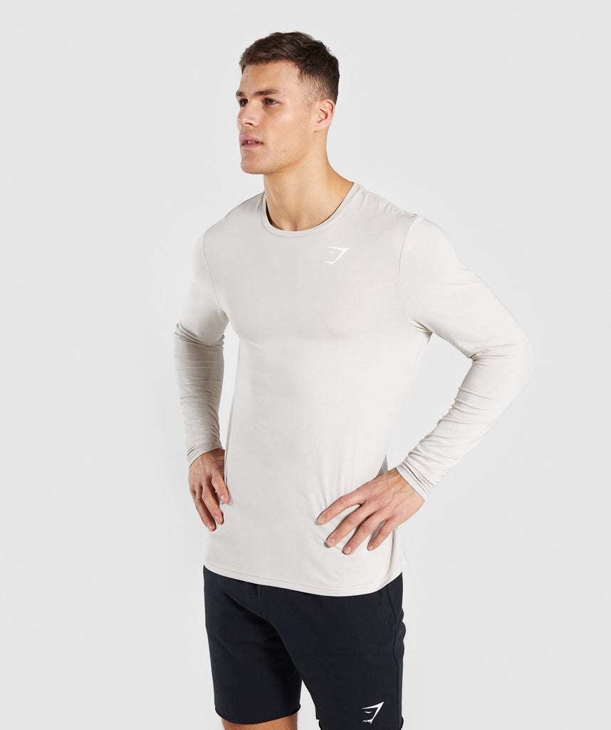 Gymshark Critical Long Sleeve T-Shirt - Grey 1