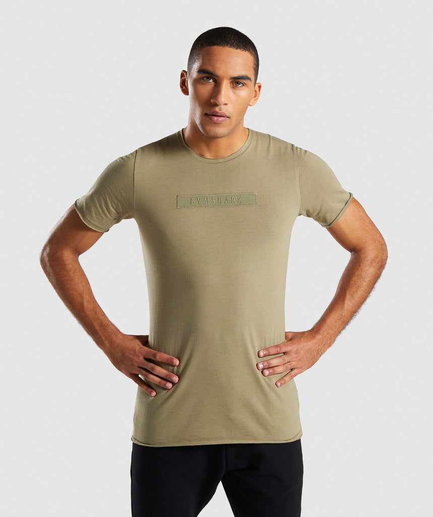 Gymshark Crucial T-Shirt - Light Khaki 1
