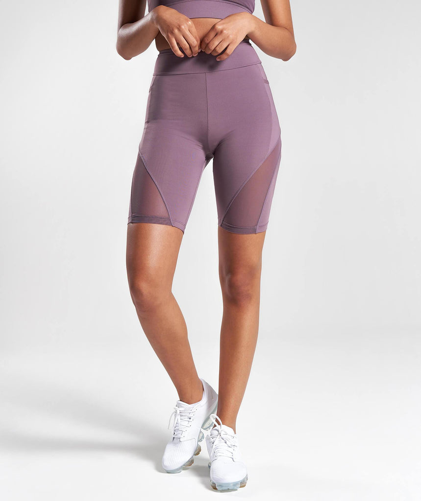 Gymshark Elevate Cycling Shorts - Purple Wash 4
