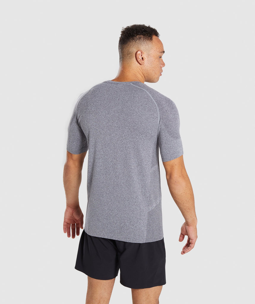 Gymshark Define Seamless T-Shirt - Smokey Grey Marl 2