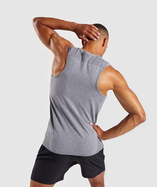 Gymshark Define Seamless Tank - Smokey Grey Marl 4