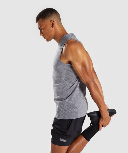 Gymshark Define Seamless Tank - Smokey Grey Marl 2