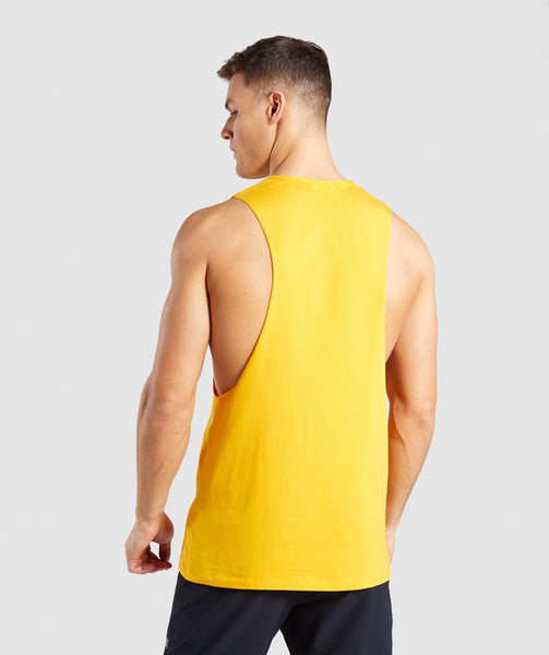 Gymshark Distort Tank - Citrus Yellow 1