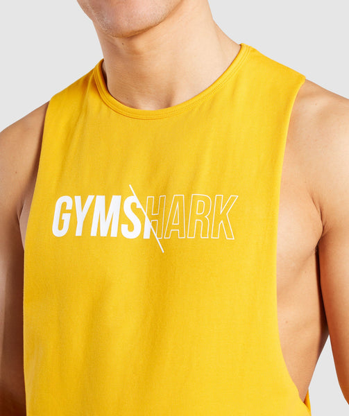 Gymshark Distort Tank - Citrus Yellow 4