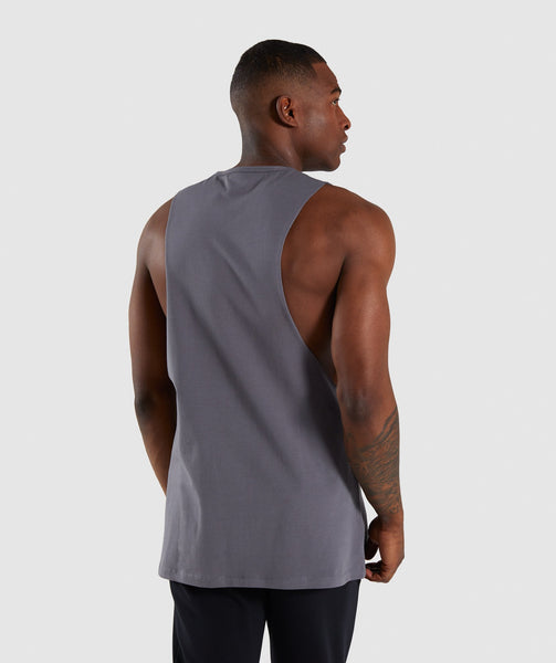 Gymshark Distort Tank - Smokey Grey 1