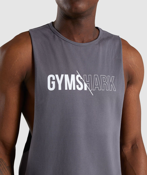 Gymshark Distort Tank - Smokey Grey 4