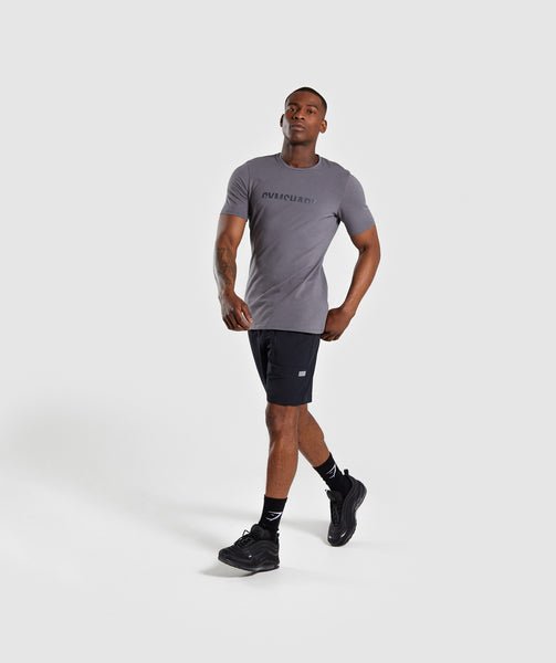 Gymshark Divide T-Shirt - Smokey Grey 3