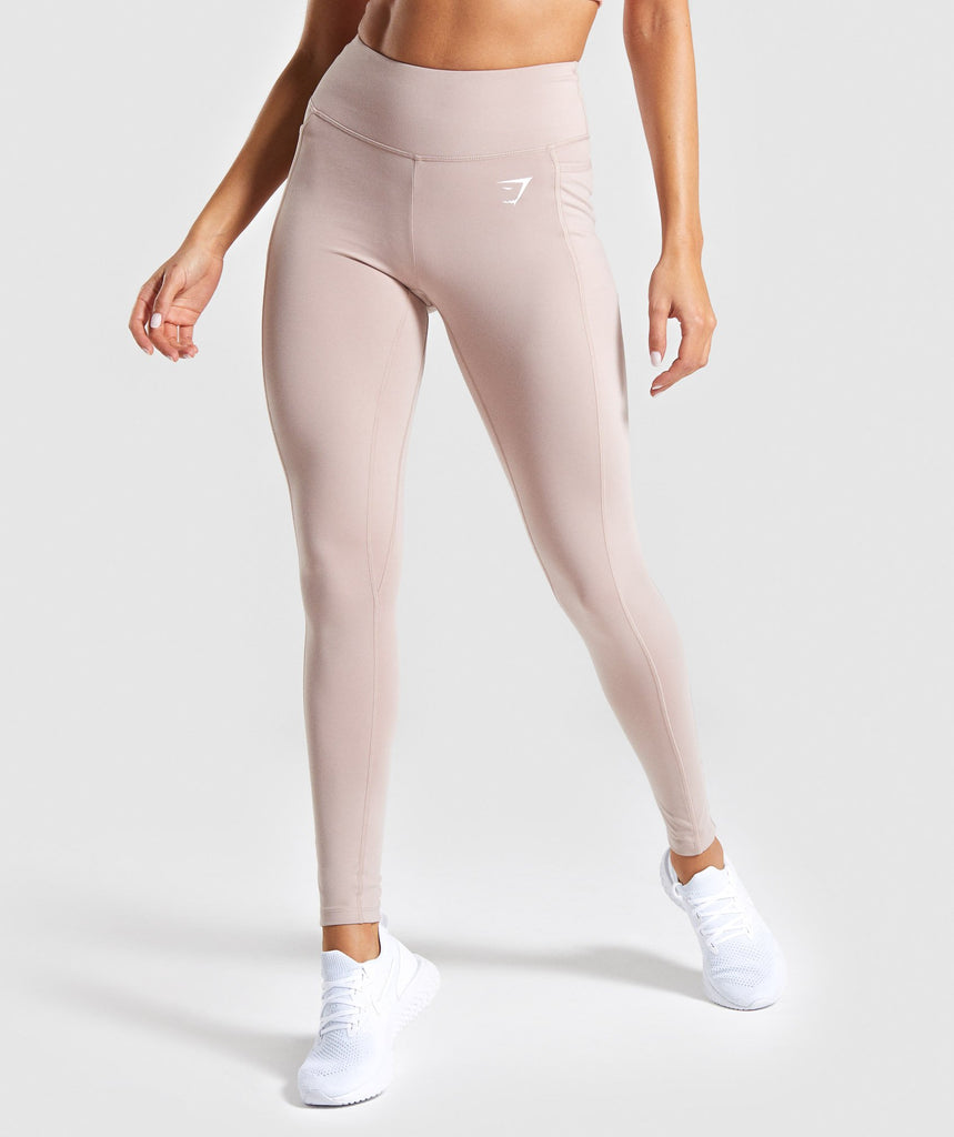 Gymshark Dreamy Leggings 2.0 - Taupe 1