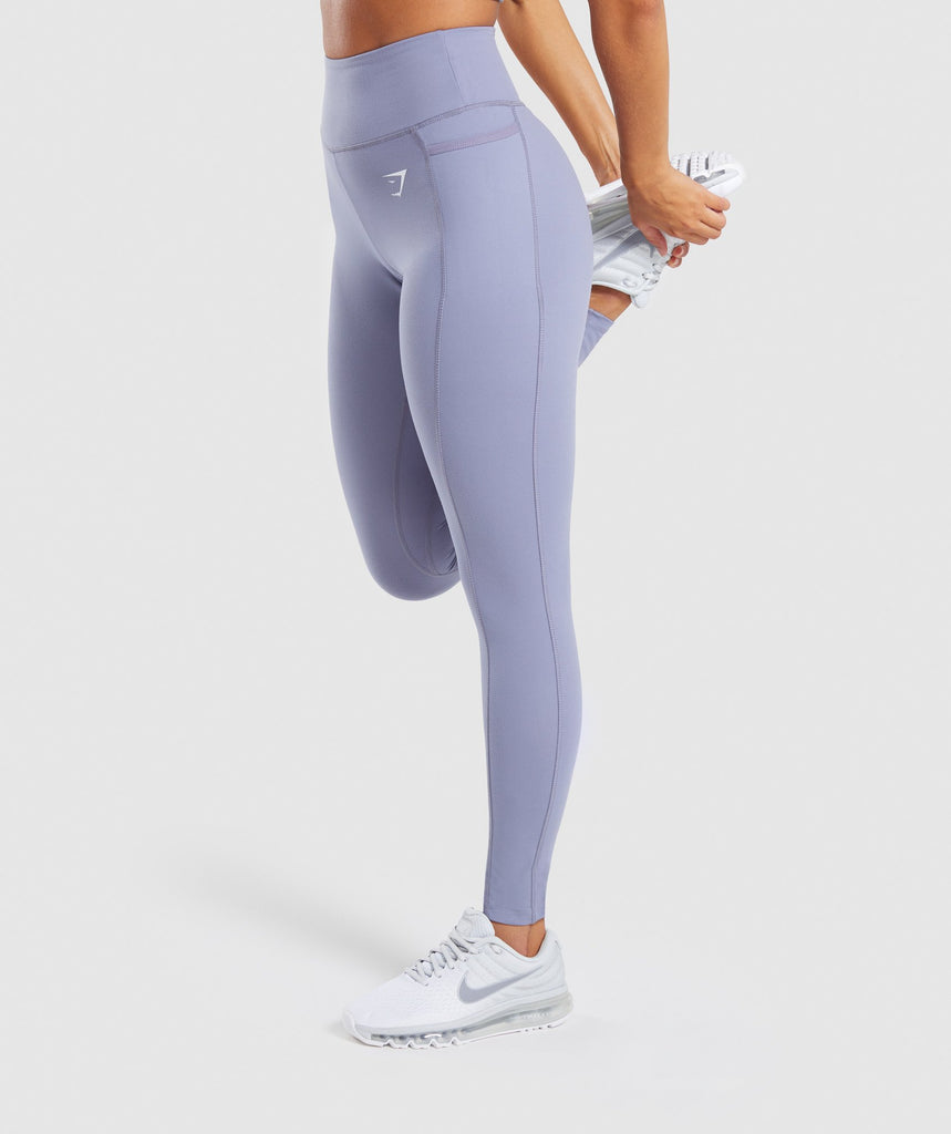 Gymshark Dreamy Leggings 2.0 - Steel Blue 4
