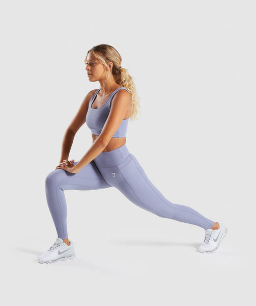 Gymshark Dreamy Leggings 2.0 - Steel Blue 3
