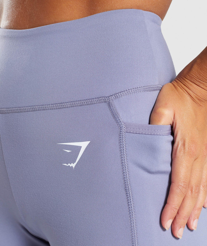 Gymshark Dreamy Leggings 2.0 - Steel Blue 5