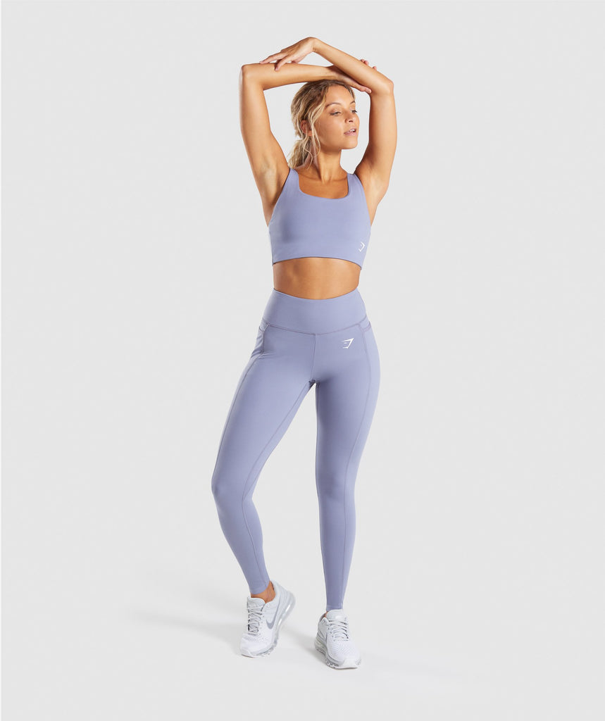 Gymshark Dreamy Leggings 2.0 - Steel Blue 6