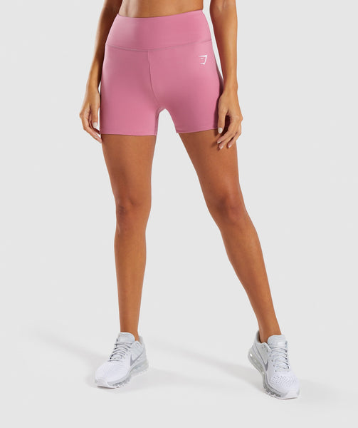 Gymshark Dreamy High Waisted Shorts - Dusky Pink 4