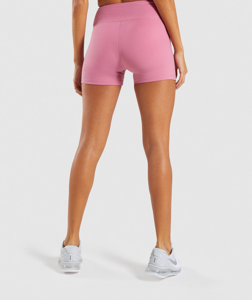 Gymshark Dreamy High Waisted Shorts - Dusky Pink 2
