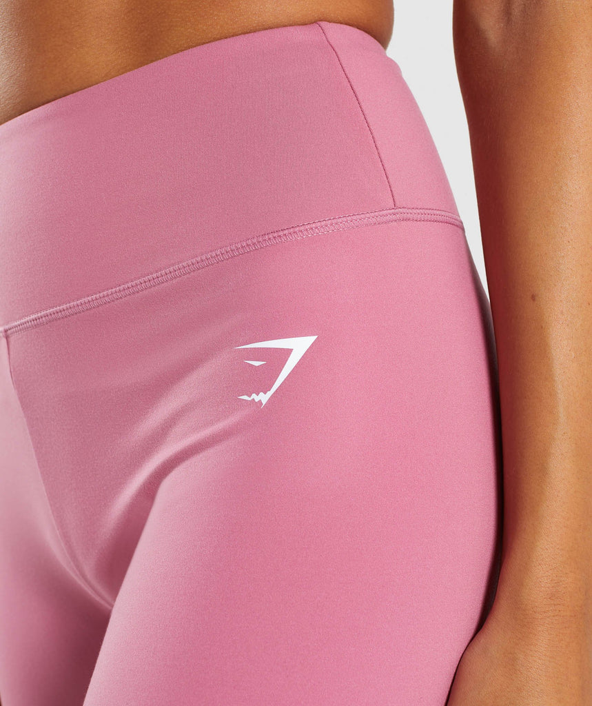 Gymshark Dreamy High Waisted Shorts - Dusky Pink 5