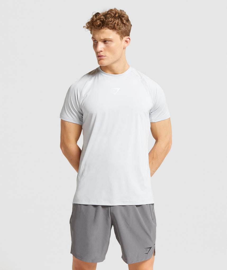 Gymshark Element Hiit T-Shirt - Grey 1