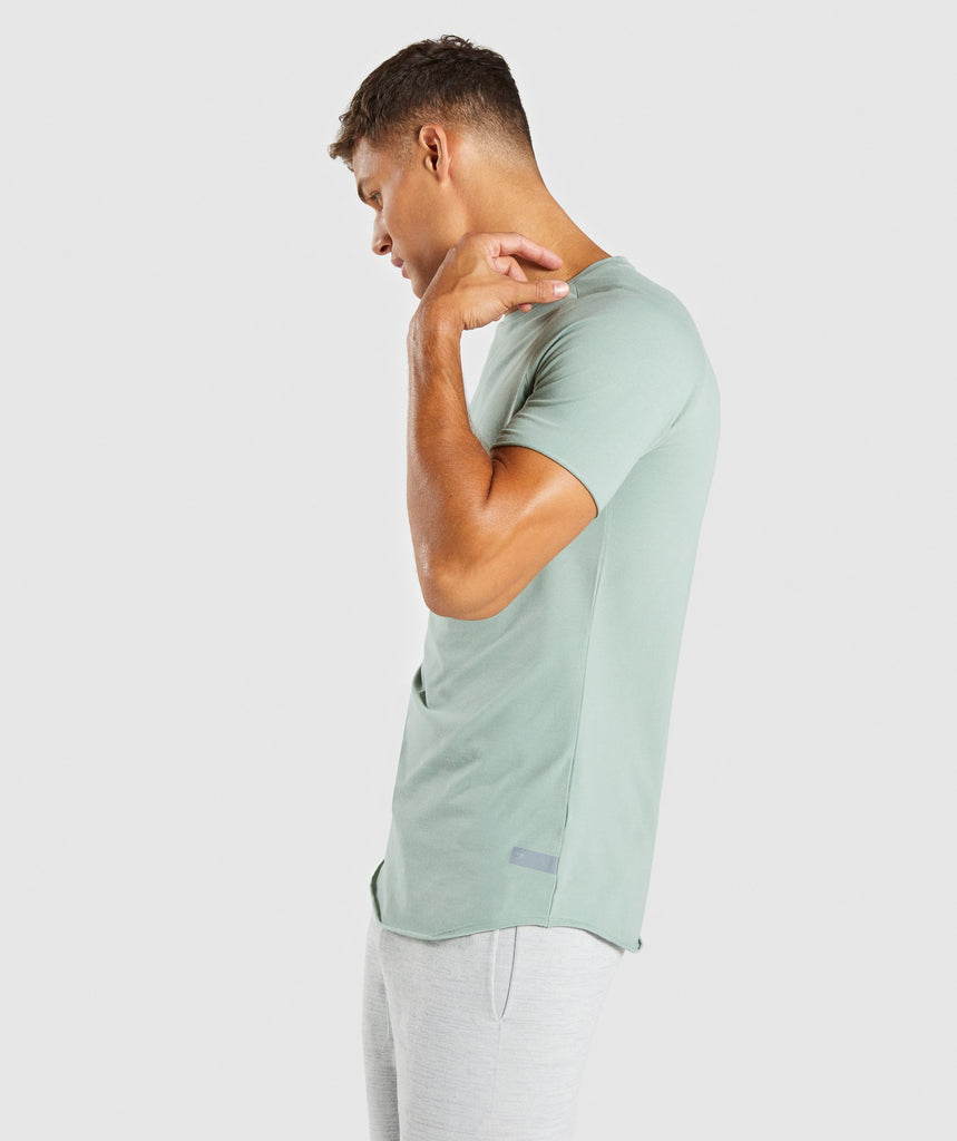 Gymshark Eaze T-Shirt - Pale Green 2