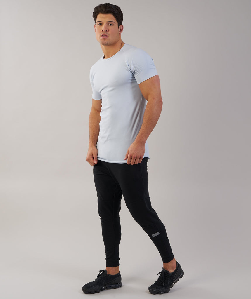 Gymshark Eaze T-Shirt - Clear Water 1