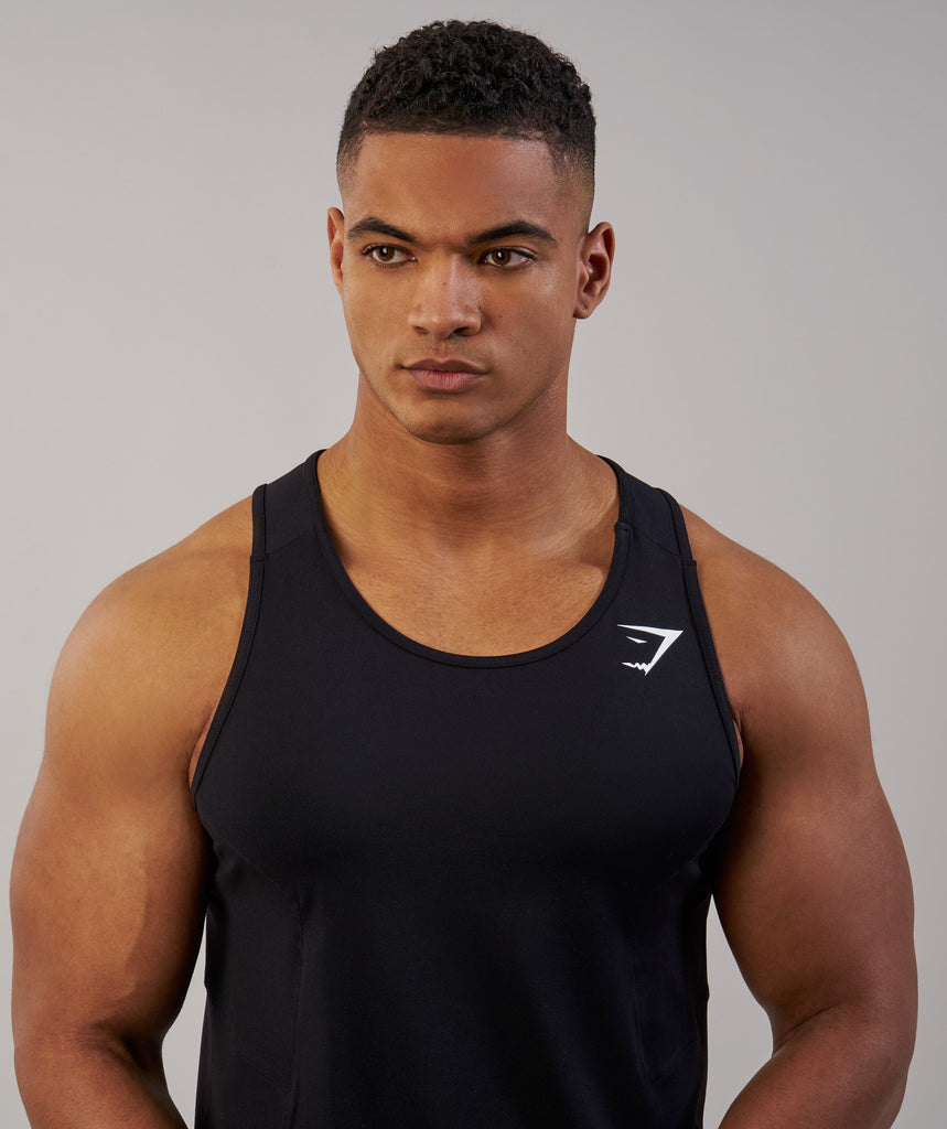 Gymshark Element Tank - Black 5