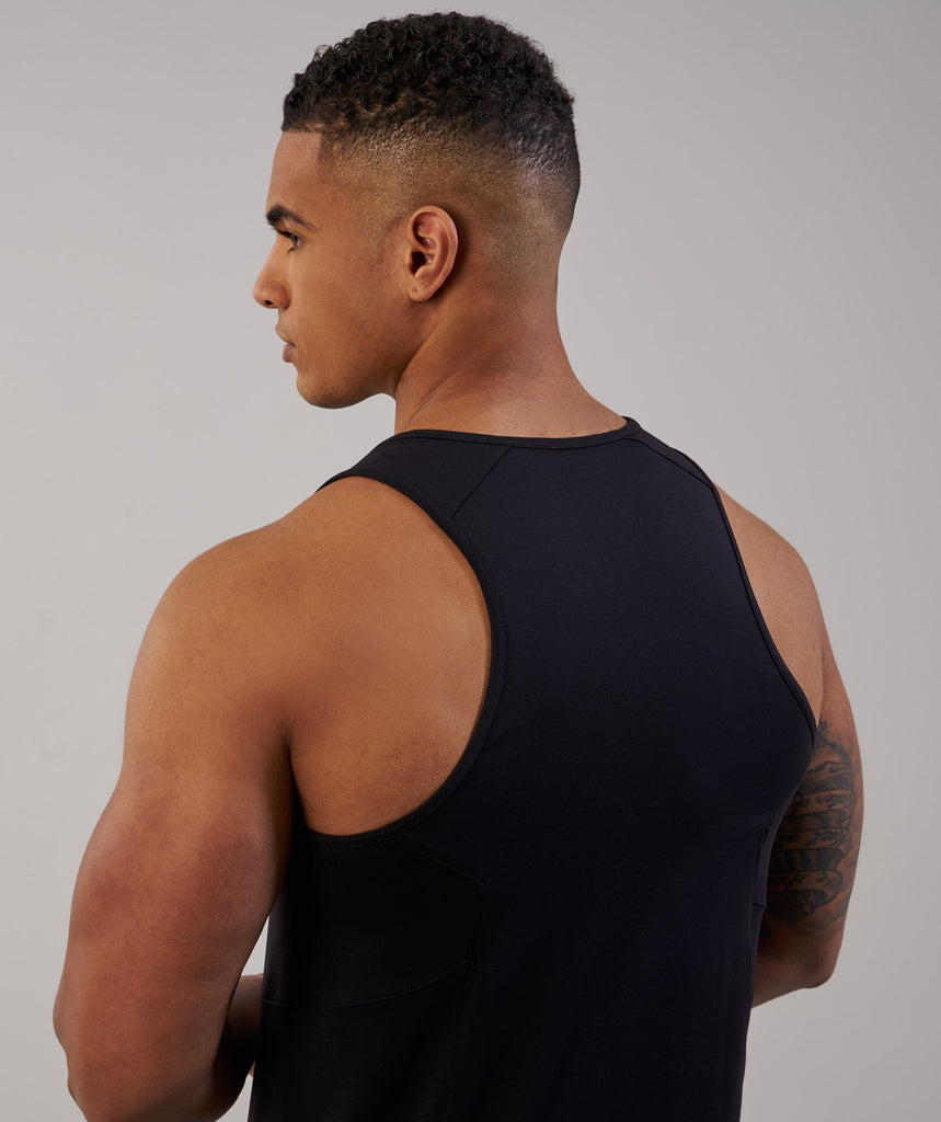 Gymshark Element Tank - Black 6